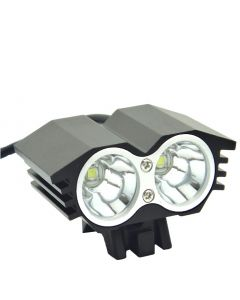 EternalFire Bicycle light 2*CREE XM-L U2 4 Modes Dual Head LED Bike light/bike front light