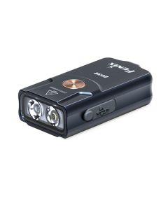 Fenix E03R 260 lúmenes LED EDC USB recargable MINI linterna de luz clave