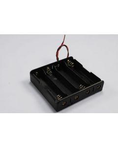 Caja de batería DIY para 4 * 18650 batería