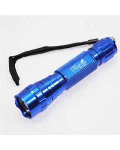 UltraFire WF-501B CREE XM-L U2 1300 Lumen 5 modos frío blanco LED linterna azul