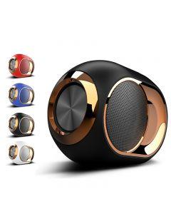 Altavoz Bluetooth Golden Egg, altavoz inalámbrico de gama alta portátil, 108 dB STETEO Bluetooth Player Mini Bluetooth Player, altavoz Super Subd Subwoofer