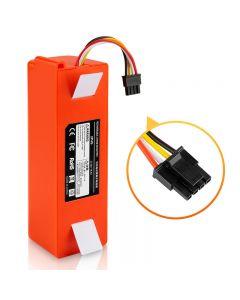 14.4V li-ion accesorios limpiador de batería para xiaomi mi robot Robot Robótica roborock S50 S51 S55 T4 T6