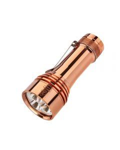 Lumintop FW21 PRO Cobre Cree XHP50.2 ,000 lúmenes LED 21700 batería EDC Linterna