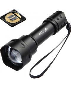 UltraFire T20 10W  linterna 850nm 940nm visión nocturna visión nocturna visión zoomable antorcha LED linterna