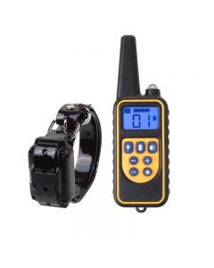 800m Electric Dog Training Colllar PET control remoto impermeable recargable con pantalla LCD para todo el tamaño de la vibración de choque