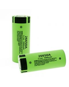 0%Original Nuevo 26650A Batería de iones de Litio 3.7V 5000mA Baterías recargables