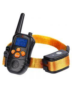 Nuevo collares de entrenamiento electrónico remoto de 300 m con pantalla LCD de pantalla azul recargable 100 niveles PET ELECTRONIC PROD PERD