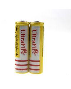 UltraFire BRC 18650 5000mAh Li-ion batería recargable (1 par)
