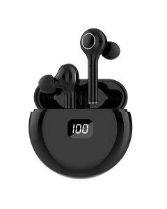 TWS Bluetooth 5.0 Auriculares 400mAh Caja de carga Auriculares inalámbricos 9D Deportes estéreo a prueba de agua Auriculares Auriculares con micrófono