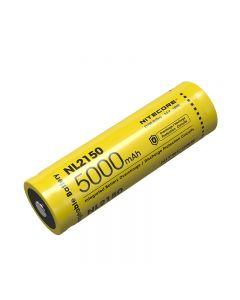NITECORE NL2150 5000mAh 3.6V 18Wh 21700 Li-ion Batería recargable