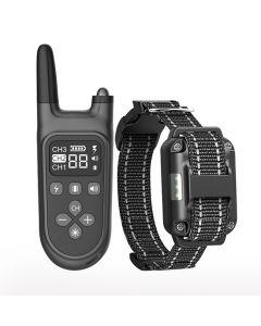 2021 NUEVO 800M El control remoto de entrenamiento de perros eléctrico de 800 m de 800m Recargable de control remoto recargable con pantalla LCD para todo el tamaño de la vibración de choque