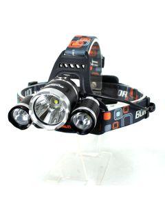 3T6 linterna 3000 lúmenes de alta potencia linterna LED Boruit 3xCREE XM-L T6 4 modo Faro-luz unidad sólo