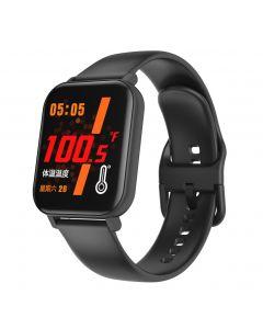 Reloj inteligente F25 temperatura corporal reloj inteligente deportes pulsera de apoyo frecuencia cardíaca presión arterial oxígeno en la sangre