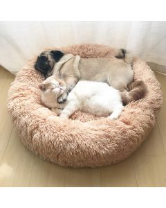 Casa de cama de gato redondo Cama larga larga mejor mascota Cama para perros para perros Cesta Mascota Productos para mascotas Cojín Cat Mascota Mat Cat Casa Casa Animales Sofá