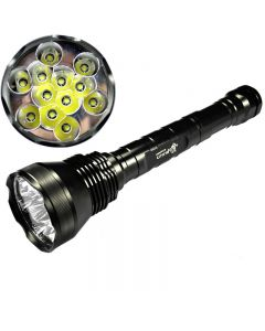 12T6 de UltraFire Cree XM-L T6 linterna Lumen 13800 5-modo de alta potencia LED