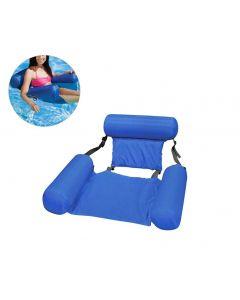 Verano inflable flotante fila agua hamaca inflable aire colchoneta piscina playa flotante dormitorio cojín silla silla