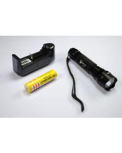 UltraFire WF-501B XML U2 LED Linterna 18650 Batería Cargador