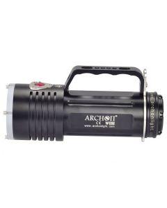 ARCHON DG60 WG66 6 * 5000lm CREE XM-L2 U2 LED Max 3 modos LED buceo luz + 6 * 18650 + cargador
