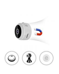 A9 DV WiFi Mini Cámara 80P HD Detección de Movimiento / IR Visión Nocturna 150 Grados Gran Angular Voz Video Webcam