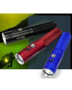 Antorcha para buceo profesional ARCHON V10S / 1 * CREE XM-L U2 860 Lumens 3 modos buceo luz linterna LED (1 * 18650 no incluyen)