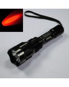UniqueFire HS-802 Cree luz roja de largo alcance Linterna Led