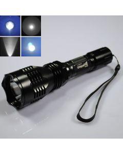 UniqueFire HS-802 Cree azul luz larga gama Led Linterna